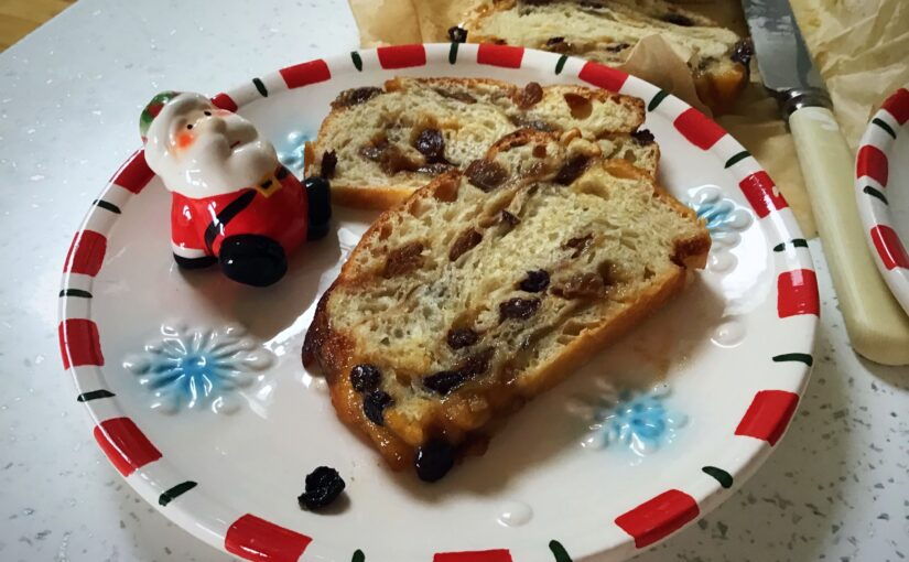 Festive enriched sourdough babka…